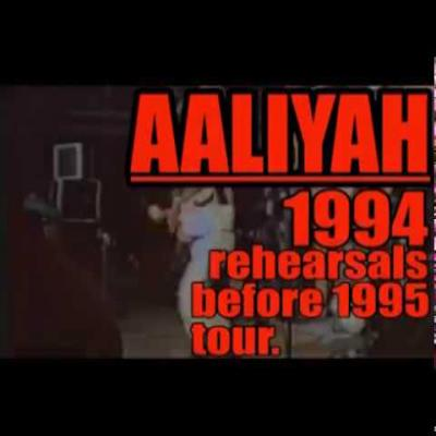 Embedded thumbnail for Aaliyah's First Tour Rehearsals in 1994 Before 1995 Tour (Rare)